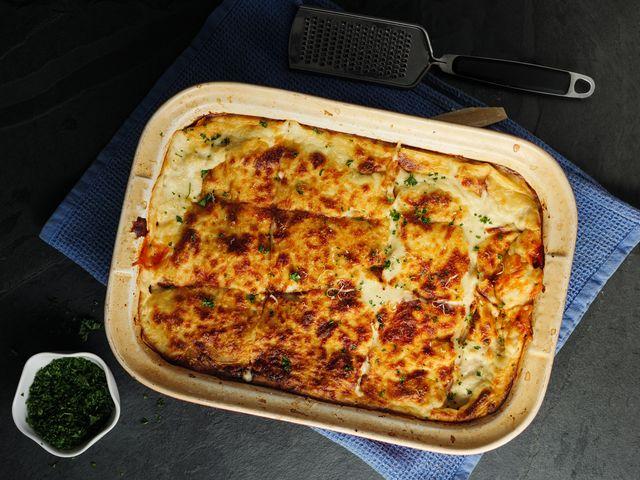 recept lasagne met pompoen