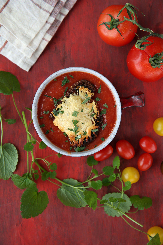 receta de crema de tomates naturales