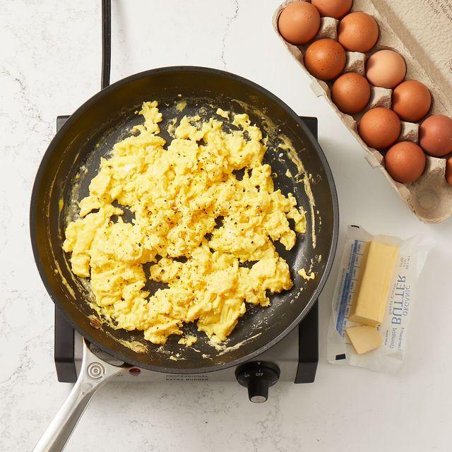 como hacer huevos revueltos