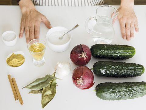 Food, Vegetable, Zucchini, Cucumber, Ingredient, Vegetarian food, Cuisine, Plant, Recipe, Dish,