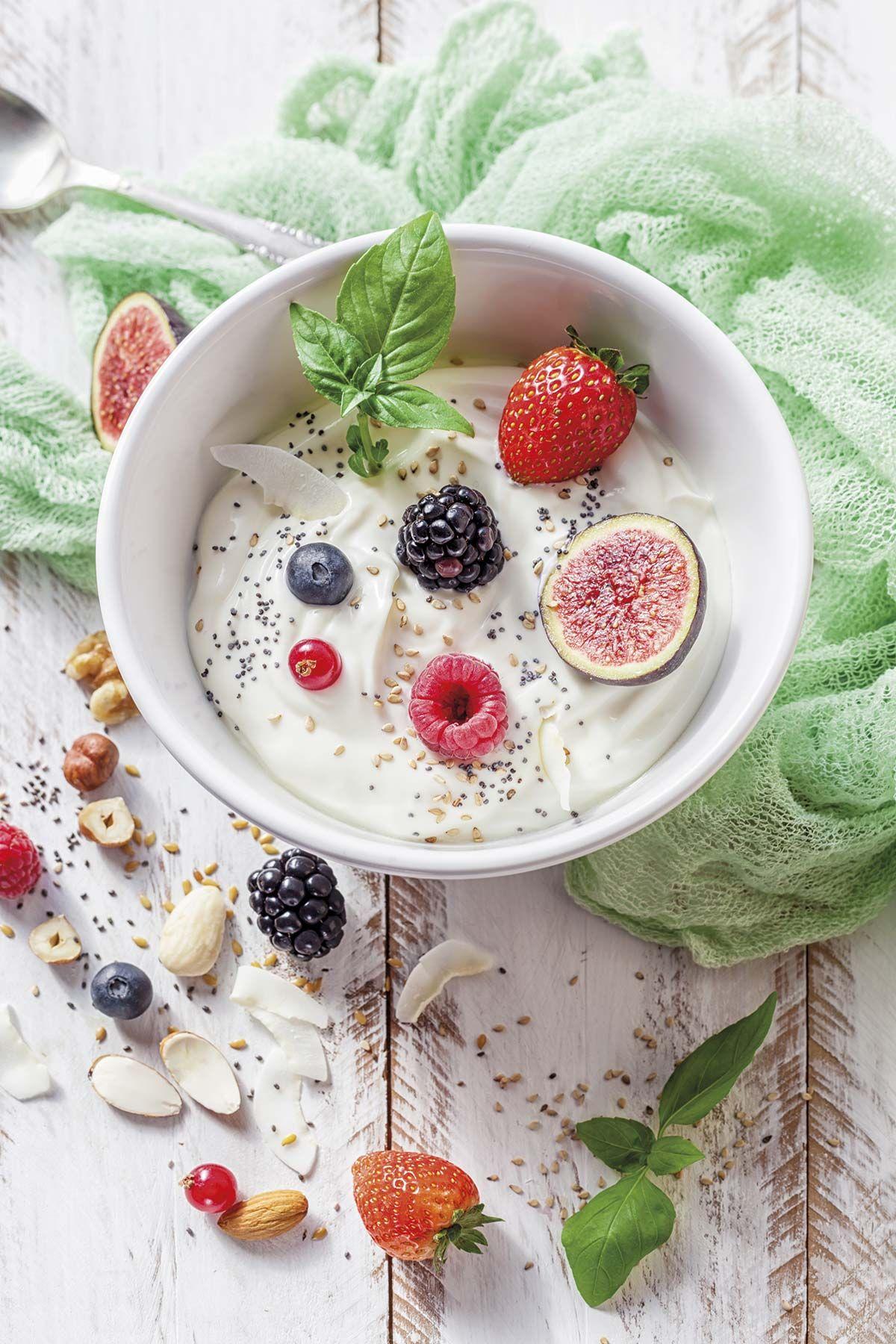 Yogur griego con chía