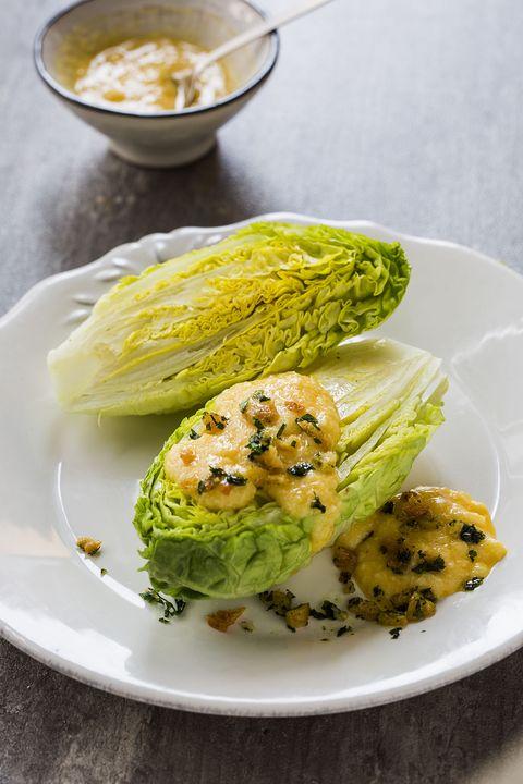 receta de cogollos con salsa