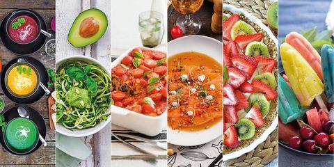 recetas con color