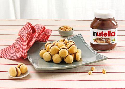 una receta casera y fácil con nutella