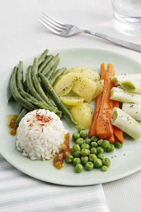 te enseñamos a preparar esta deliciosa y sana receta de verduras con arroz