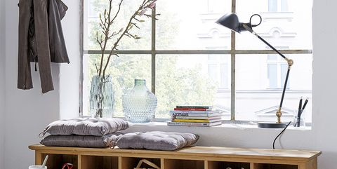 Furniture, Table, Room, Interior design, Sideboard, Coffee table, Material property, Display case, Architecture, Shelf,