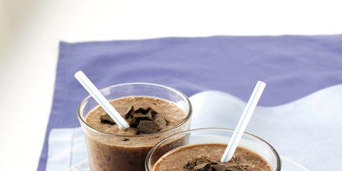 Brown, Food, Drink, Serveware, Ingredient, Smoothie, Plate, Recipe, Snack, Cylinder,