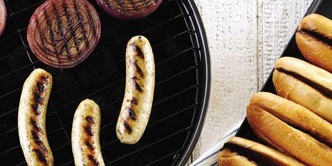 Food, Ingredient, Cuisine, Dish, Tableware, Sausage, Breakfast, Italian sausage, Meal, Plate,
