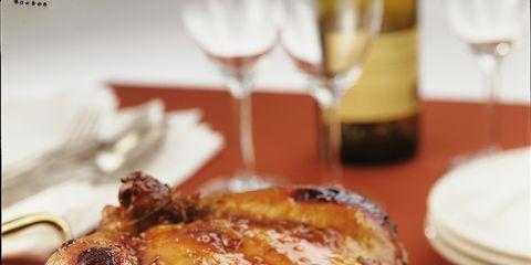 Food, Dishware, Glass, Ingredient, Serveware, Dish, Hendl, Drinkware, Chicken meat, Meat,