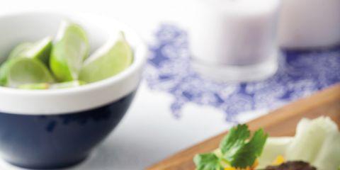 Food, Ingredient, Dishware, Leaf vegetable, Cuisine, Tableware, Dish, Recipe, Serveware, Garnish,