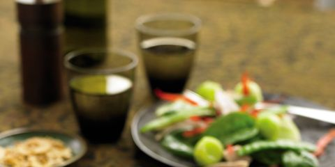 Dishware, Food, Tableware, Vegetable, Cuisine, Drink, Ingredient, Salad, Meal, Plate,