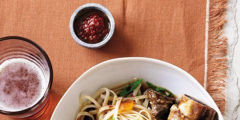 Food, Cuisine, Ingredient, Dish, Tableware, Meal, Bowl, Recipe, Meat, Noodle,