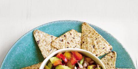 Cuisine, Food, Tableware, Dish, Ingredient, Meal, Recipe, Finger food, Vegan nutrition, Corn chip,