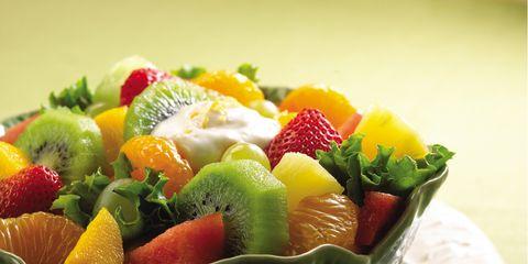 Serveware, Dishware, Sweetness, Food, Produce, Natural foods, Tableware, Fruit, Fruit salad, Strawberry,