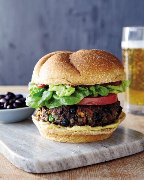 healthy black bean burgers recipe