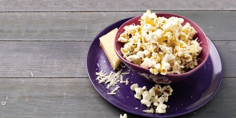 Yellow, Wood, Food, Kettle corn, Popcorn, Recipe, Hardwood, Meal, Wood stain, Breakfast,