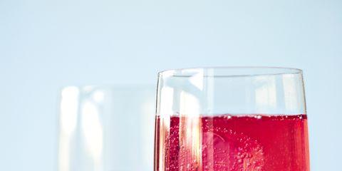 Liquid, Glass, Drinkware, Fluid, Drink, Red, Alcoholic beverage, Ingredient, Barware, Tableware,