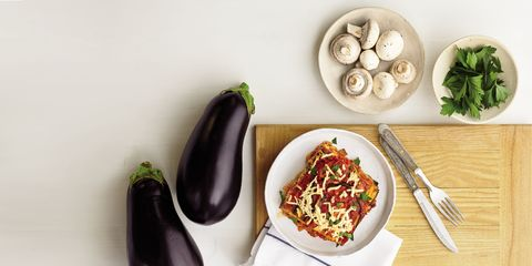 Food, Ingredient, Cuisine, Produce, Dishware, Eggplant, Dish, Leaf vegetable, Vegetable, Recipe,