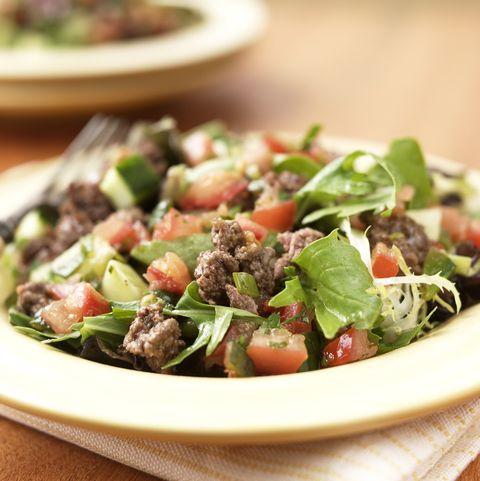 Food, Ingredient, Dishware, Vegetable, Leaf vegetable, Salad, Cuisine, Produce, Serveware, Recipe,