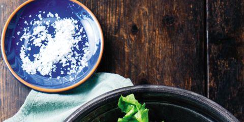 Food, Ingredient, Cuisine, Dishware, Leaf vegetable, Tableware, Recipe, Kitchen utensil, Cutlery, Dish,