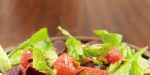 Food, Salad, Leaf vegetable, Ingredient, Vegetable, Produce, Garden salad, Dish, Tableware, Cuisine,
