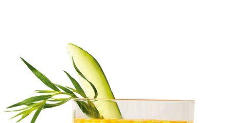 Yellow, Liquid, Drink, Tableware, Ingredient, Juice, Cocktail, Produce, Classic cocktail, Garnish,