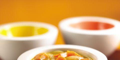 Serveware, Food, Ingredient, Cuisine, Dish, Bowl, Orange, Recipe, Spoon, Soup,
