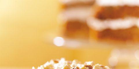 Food, Cuisine, Ingredient, Sweetness, Dessert, Baked goods, Dish, Tableware, Cake, Recipe,