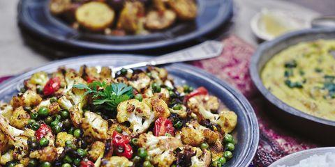 Food, Cuisine, Tableware, Dish, Meal, Dishware, Recipe, Vegetable, Ingredient, Bowl,