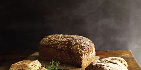 Bread, Food, Baked goods, Ingredient, Finger food, Brown bread, Cuisine, Loaf, Gluten, Rye bread,