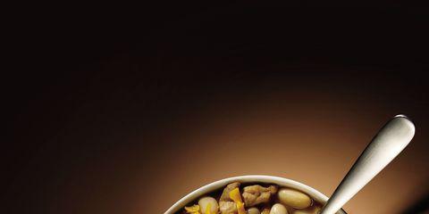 Food, Cuisine, Ingredient, Produce, Recipe, Meal, Kitchen utensil, Vegetarian food, Mixture, Bowl,