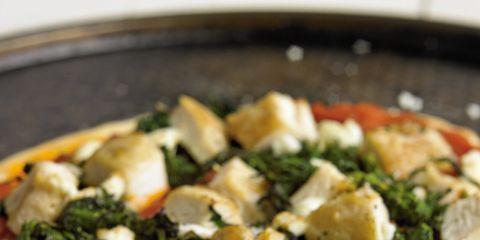Food, Cuisine, Ingredient, Dish, Pizza, Recipe, Vegetable, Baked goods, Finger food, Leaf vegetable,