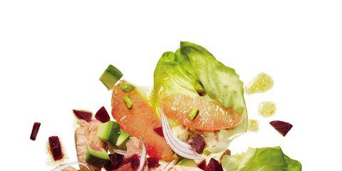 Food, Leaf vegetable, Ingredient, Salad, Garnish, Recipe, Cuisine, Produce, Cruciferous vegetables, Vegetable,
