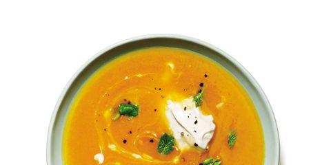 Food, Orange, Ingredient, Amber, Tableware, Garnish, Bisque, Peach, Serveware, Recipe,