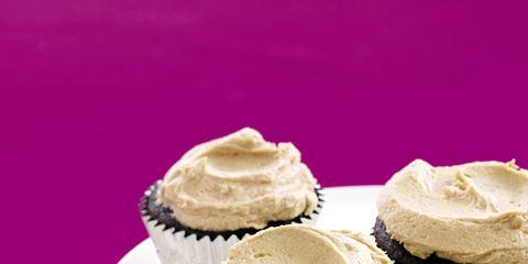 Food, Cupcake, Cuisine, Sweetness, Dessert, Baked goods, Serveware, Cake, Ingredient, Dairy,