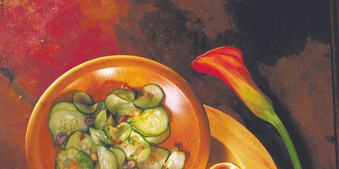 Recipe, Paint, Still life photography, Produce, Side dish, Kitchen utensil, Mixture, Bowl, Vegetarian food, Salad,