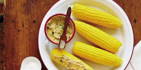 Food, Corn kernels, Yellow, Wood, Corn, Cuisine, Ingredient, Sweet corn, Produce, Dishware,