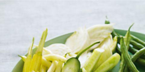 Food, Ingredient, Produce, Tableware, Dishware, Dish, Vegetable, Natural foods, Vegan nutrition, Plate,