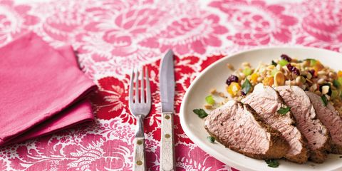 Tablecloth, Food, Ingredient, Beef, Pink, Dishware, Linens, Cuisine, Meat, Napkin,
