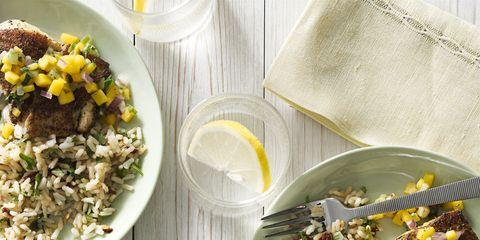 Yellow, Food, Cuisine, Dishware, Meal, Tableware, Dish, Recipe, Serveware, Garnish,