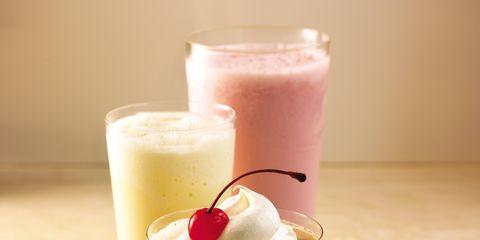 Drink, Food, Tableware, Health shake, Drinkware, Fast food, Drinking straw, Smoothie, Milkshake, Non-alcoholic beverage,