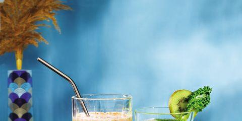Liquid, Green, Drink, Juice, Ingredient, Tableware, Food, Vegetable juice, Produce, Cocktail,