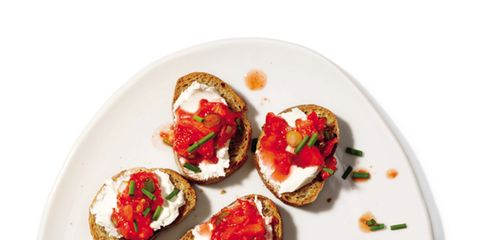 Food, Cuisine, Finger food, Dish, Strawberries, Recipe, Ingredient, Garnish, Fruit, Produce,