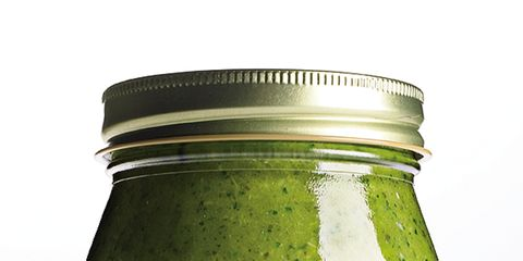 Green, Mason jar, Food storage containers, Canning, Condiment, Ingredient, Whole food, Preserved food, Lid, Food storage,