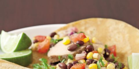 Food, Cuisine, Dish, Ingredient, Plate, Dishware, Korean taco, Recipe, Taco, Tableware,