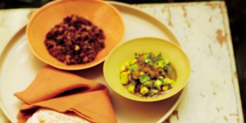 Food, Beef, Ingredient, Bowl, Pork, Dishware, Beef tenderloin, Tableware, Flat iron steak, Animal product,