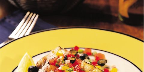 Food, Dishware, Cuisine, Ingredient, Tableware, Plate, Dish, Culinary art, Serveware, Garnish,
