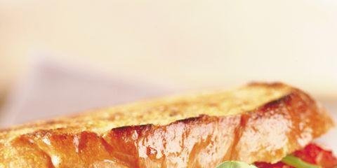 Food, Finger food, Cuisine, Sandwich, Ingredient, Baked goods, Dish, Breakfast, Meal, Fast food,