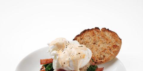 Food, Ingredient, Dishware, Dish, Finger food, Recipe, Breakfast, Crab cake, Plate, Cuisine,