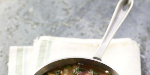 Food, Produce, Soup, Ingredient, Recipe, Dish, Cuisine, Stew, Spoon, Serveware,